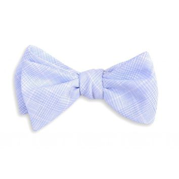 Easton Linen Bow Tie in Blue by High Cotton