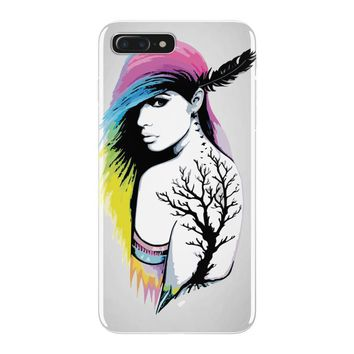 rainbow girl iPhone 7 Plus Case
