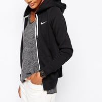 Nike Club Swoosh Zip Up Hoodie