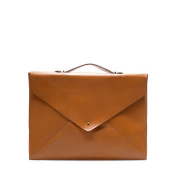 LEATHER BRIEFCASE - Bags - Man | ZARA United States