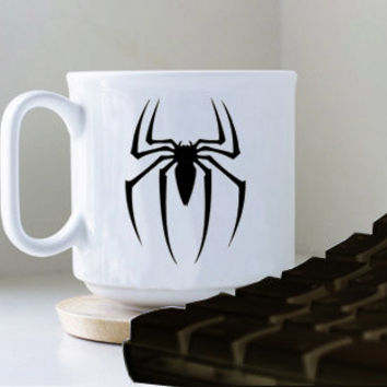 sepiederman mug heppy mug coffee, mug tea, size 8,2 x 9,5 cm.