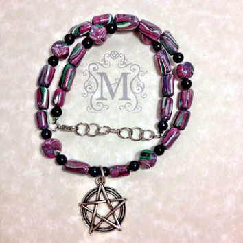 Wicca Pagan Prayer Beads Meditation