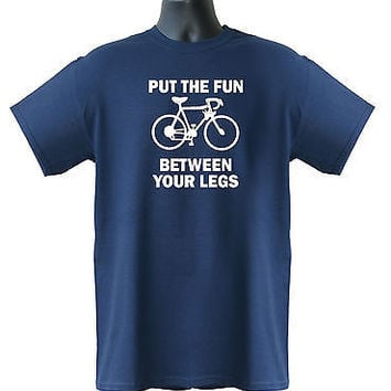 Put The Fun Between Your Legs Funny Comic Mens Ladies Kids T-Shirt S-XXL Size