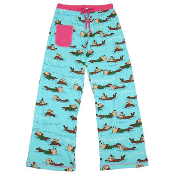 Otter Be Juniors Sleep Pants