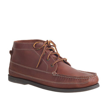 Men's Sperry For J.Crew Leather Chukka Boots