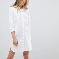 ASOS TALL Cotton Mini Shirt Dress at asos.com