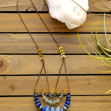 Jumbo Druzy Necklace