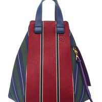 Medium Hammock Striped Suede Bag | Moda Operandi