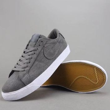 Nike Sb Blazer Zoom Low Women Men Fashion Casual Low-Top Old Skool Shoes-3