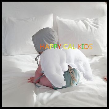 INS New Angel wings children pillow back pillow bed tent home photography props decoration pillow