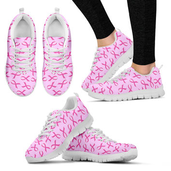 Breast Cancer Awareness Sneakers