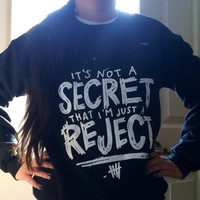 5 Seconds Of Summer 5SOS Rejects crewneck sweatshirt © Design by Euclea Tan