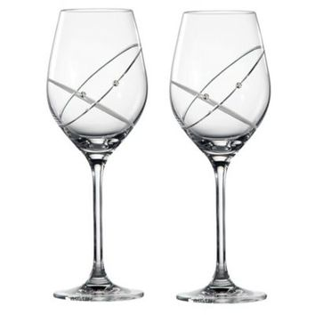 "Royal Doulton Promises ""With This Ring"" Wine Glasses (Set of 2)"