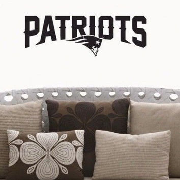 New England Patriots NFL Team Superbowl Wall Decal Gm0689 FRST