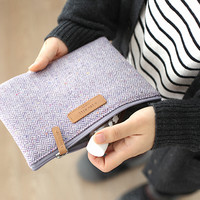 A Low Hill Wool Multi Pouch