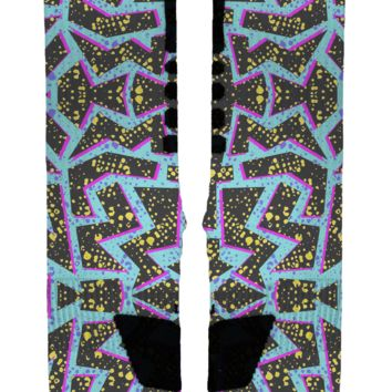 Elecrtik City Custom Nike Elites