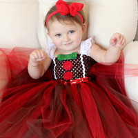 Beautiful Baby Gingerbread Man Girl Tutu by AverysCoutureLook