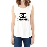 Chanel Top Muscle Tank - Ladies' Cotton/Modal Muscle T-Shirt