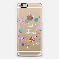 I Trust The Universe iPhone 6 case by Polly Vadasz | sighh.co | Casetify