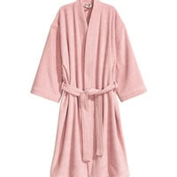 H&M Cotton Terry Bathrobe $34.99