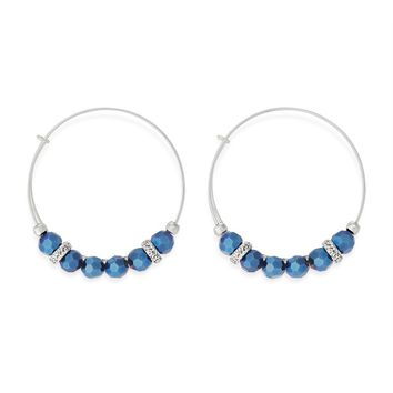 Luminous Cobalt Gleam Earrings