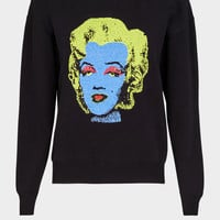 Versace Pop Art Tribute Sweatshirt for Women | US Online Store