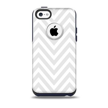 The Large Chevron white png Skin for the iPhone 5c OtterBox Commuter Case