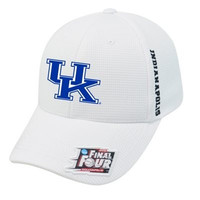 Kentucky Wildcats 2015 NCAA Final Four Basketball White Adjustable Hat Cap