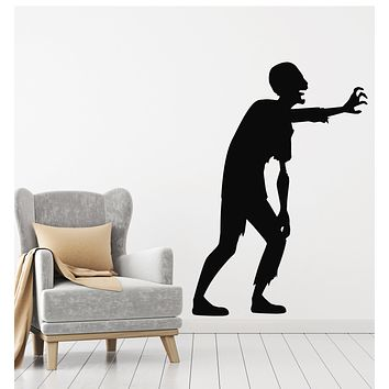 Vinyl Wall Decal Zombie Dead Horror Teen Decoration Stickers Mural (g414)