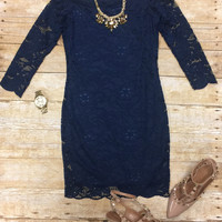 Your the One Dress: Navy