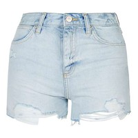 TALL Rosa Pocket Bag Shorts - Denim - Clothing
