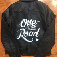 One For The Road Arctic Monkeys Leather Jacket