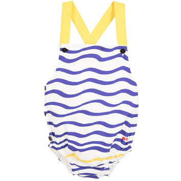 Baby Girls Wavy Bodysuit