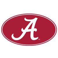 Alabama Crimson Tide NCAA 8 Inch Car Magnet