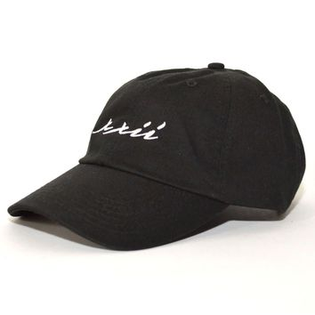 XXII Dad Hat in Black and White