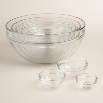 Mixing Bowls - Stainless Steel Bowls, Glass   World Market