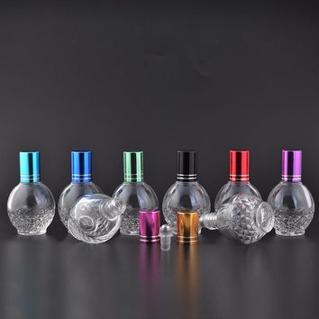Decorative Glass Bottle with Roller Ball