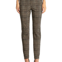 Jones New York Glen Plaid Stovepipe Pants