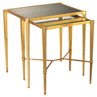 French Heritage, Geneva Set of Two Nesting Tables, Nesting Tables