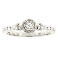 .06ctw Fine Diamond Promise Ring | Boscov's