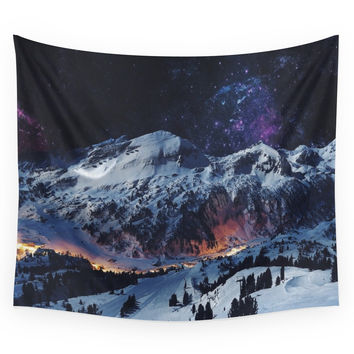 Society6 Magical Mountain Wall Tapestry