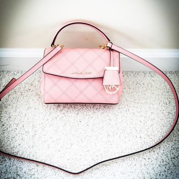 New Michael Kors Pink Small Crossbody Purse