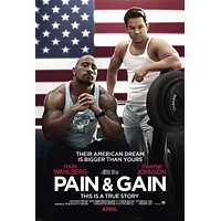 Pain and Gain 27x40 Movie Poster (2013)