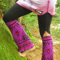 Upcycled Tribal Boot Covers/Legwarmers
