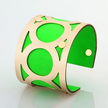 Color rubber bracelets and cuff bracelets for Women New Indian Jewelry