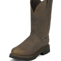 Justin Men's Work Boots - Rugged Bay Gaucho - 4444