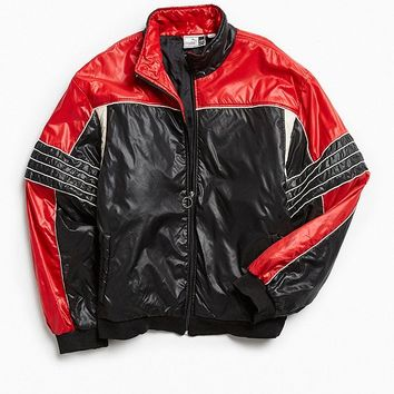 Vintage Puma Black + Red Racing Jacket | Urban Outfitters