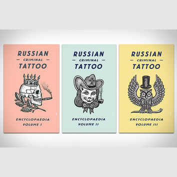 Russian Criminal Tattoo Books