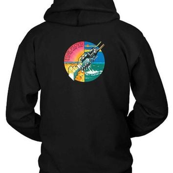 Pink Floyd Wish You Were Here Hoodie Two Sided