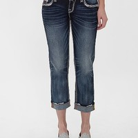 Rock Revival Ruella Easy Cropped Stretch Jean